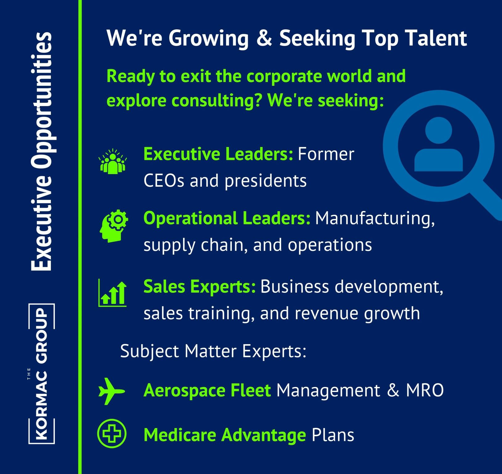 Executive Opportunities