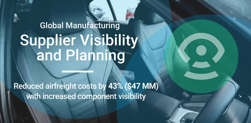 Supplier Visibility and Planning