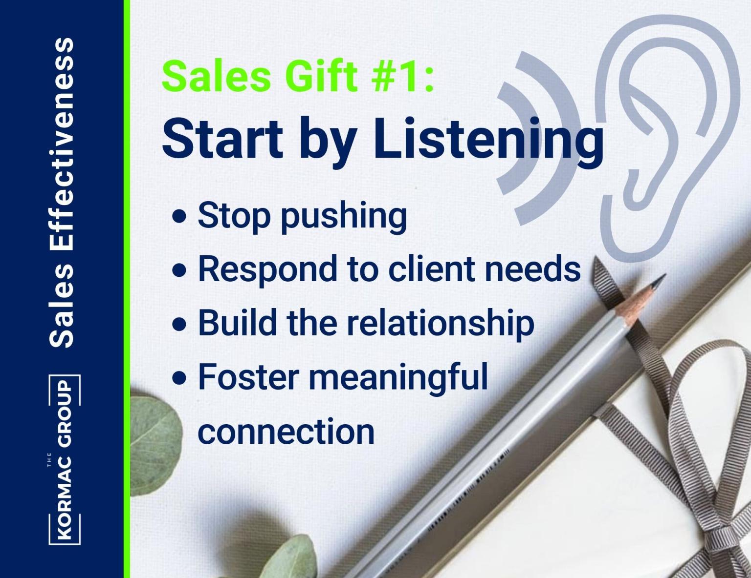 Sales Effectiveness – Gift #1